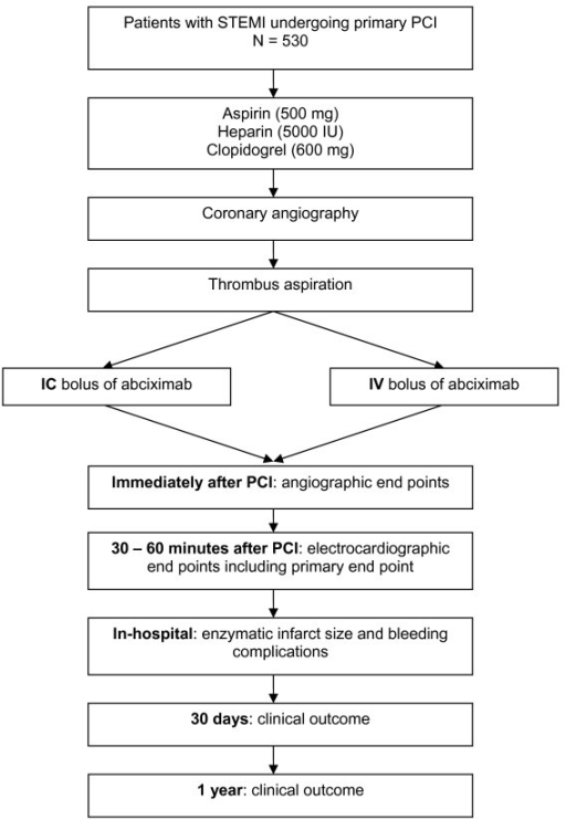The Cicero Trial Flow Chart Ic Intracoronary Iv Int Open I