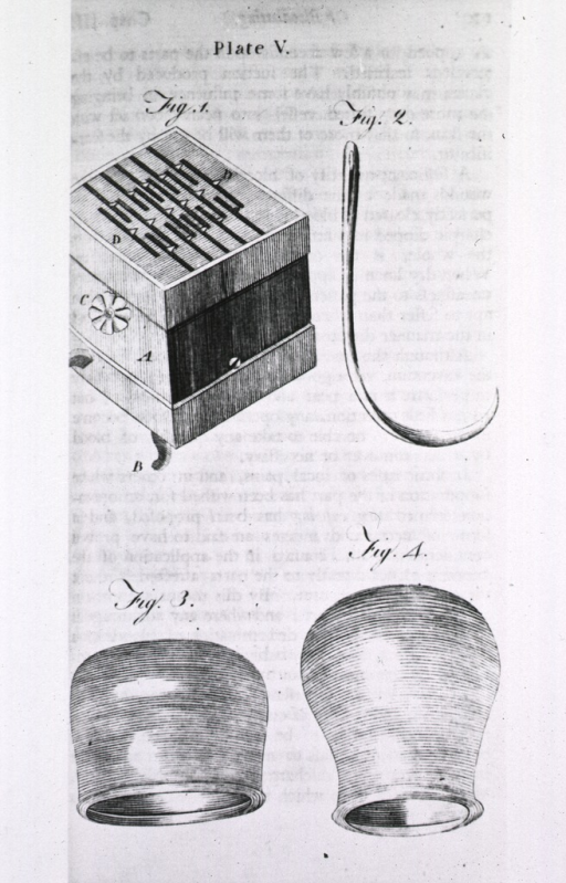<p>Instruments and apparatus for bleeding and cupping.</p>
