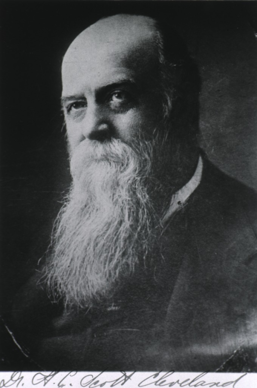 <p>Head and shoulders, left pose; long beard.</p>