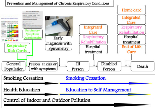 General Flow Chart For Copd Management From35 Mod Open I