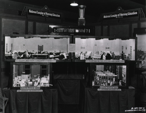 <p>View of the booth at the exhibition.</p>