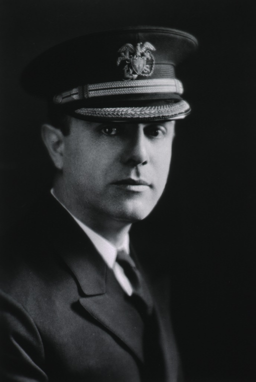 <p>Head and shoulders, right pose, wearing USPHS uniform and cap.</p>