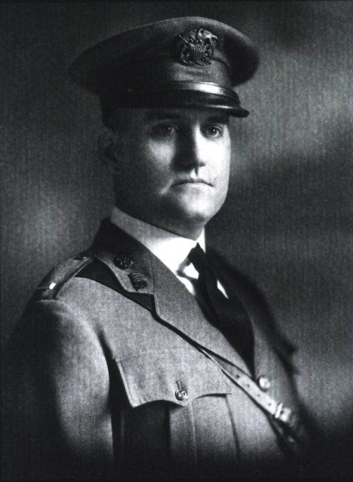 <p>Head and shoulders, full face, U.S. Army uniform and cap.</p>