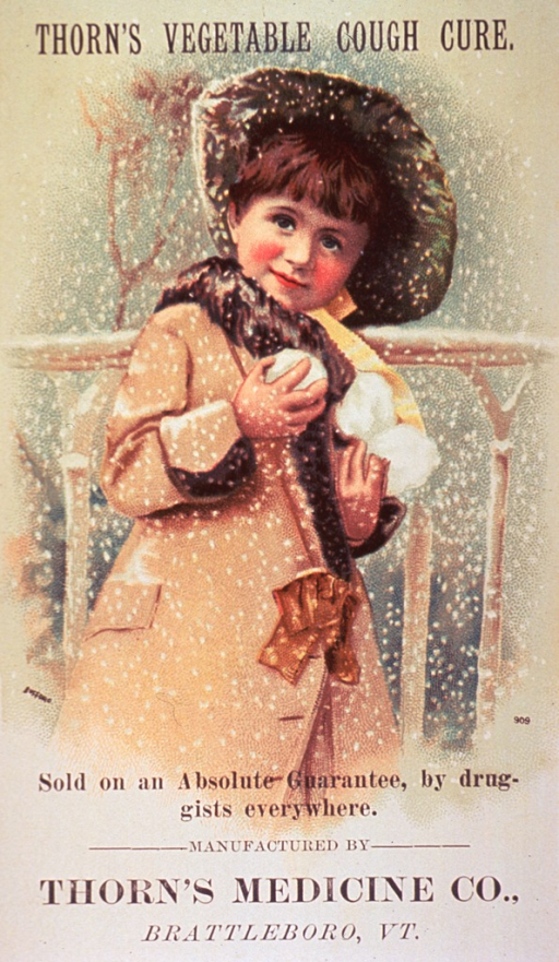<p>Little girl holding snowballs.</p>