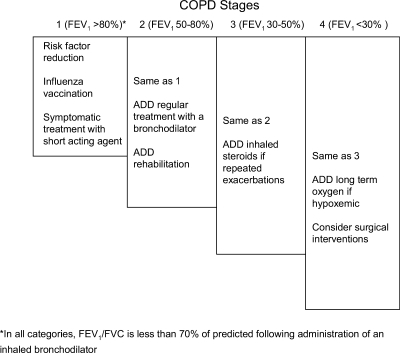 chronic obstructive pulmonary disease (copd) stages and | open-i, Skeleton