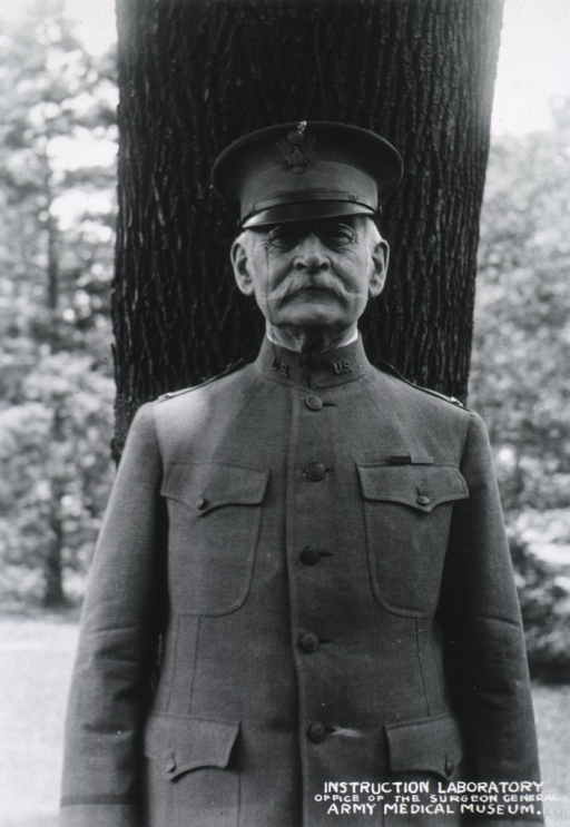 <p>Standing; Three quarters length; full face in uniform of colonel.</p>