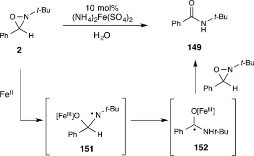 Proposed Mechanism of Iron-Catalyzed Rearrangementto Amides
