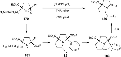 Alkaloid Synthesisby Transition-Metal-Catalyzed Oxaziridine Rearrangement