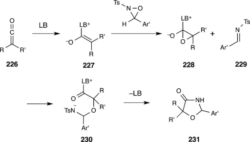 Mechanistic Proposal for Lewis Base-CatalyzedCycloaddition