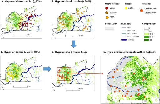 An example of micro-mapping and environmental delineation in Bas Congo, Democratic Republic of Congo