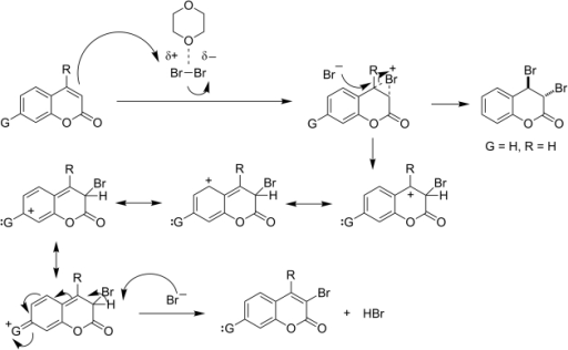 Mechanism For Bromination Of The Heterocyclic Ring Open I
