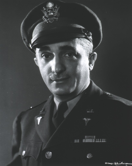 <p>Head and shoulders, full face, wearing uniform and cap (Lieut. Colonel).</p>