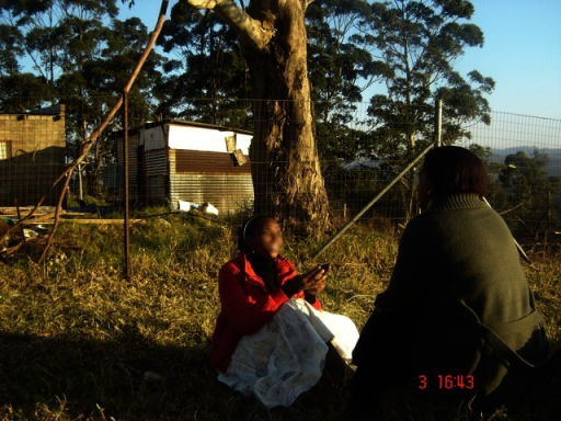 Example of Mobenzi Researcher in field use.