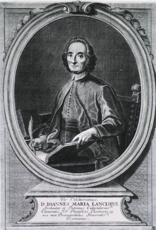 <p>Half-length, seated at desk, left pose, full face; holding open notebook and quill pen; in oval.</p>
