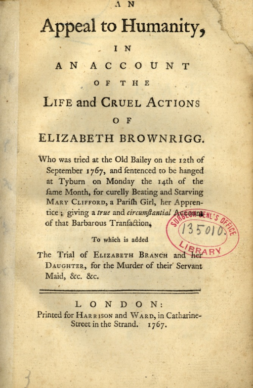 <p>SUbject: Image of title page of a pamphlet.</p>