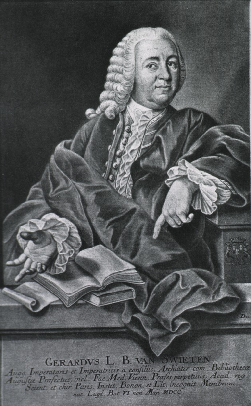 <p>Three quarter length, wearing lace-trimmed cloak.  Hands showing.</p>
