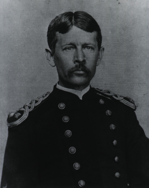 <p>Half length, full face, dress uniform.</p>