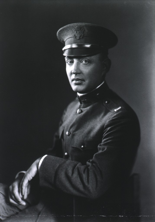 <p>Seated: In Army Lieut. Uniform. Left pose.</p>