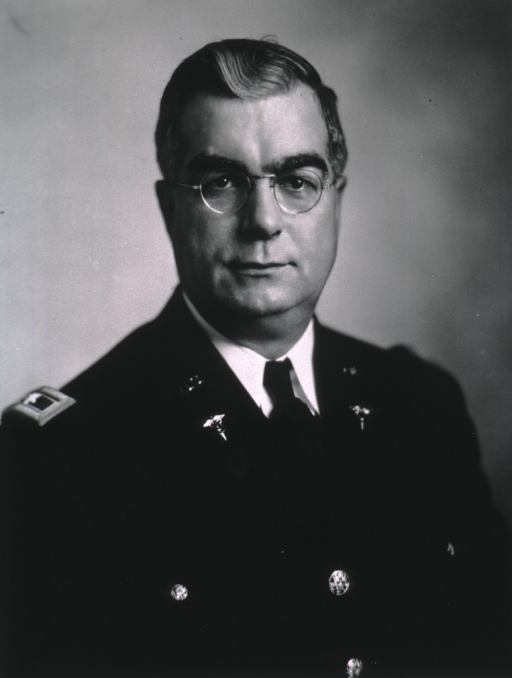 <p>Head and shoulders, full face, wearing dress uniform (Brigadier General).</p>