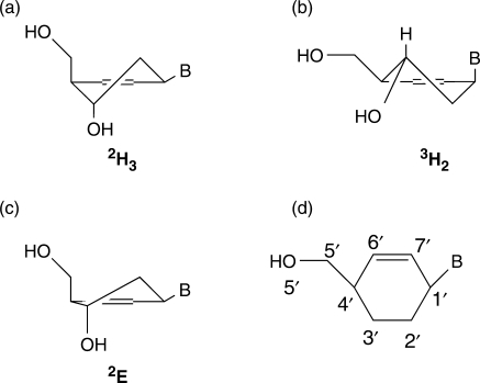 how to draw half chair conformations cyclohexene