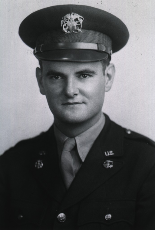 <p>Head and shoulders, full face, wearing U.S. Army uniform and cap with insignia.</p>