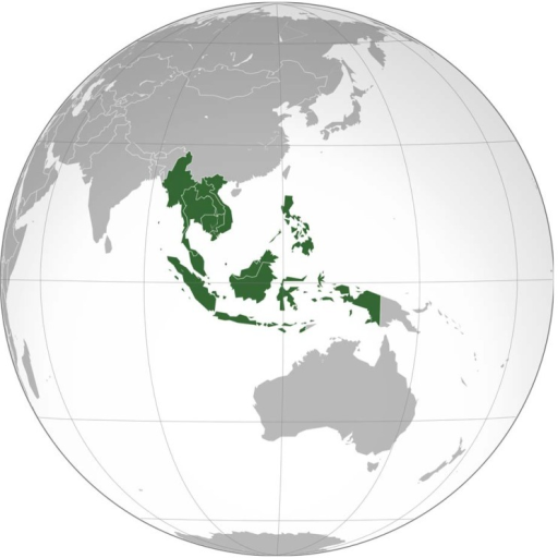 The Association of Southeast Asian Nations (ASEAN).Image Credit: Wikimedia contributor Addicted04.