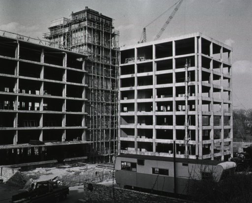 <p>Construction progress on Building 31.</p>