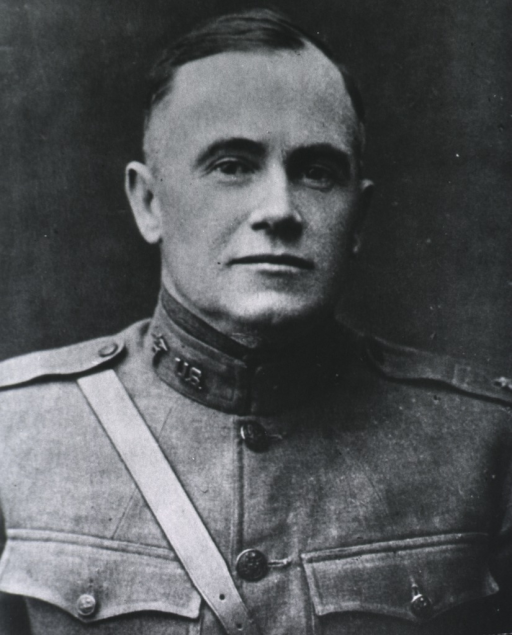 <p>Head and shoulders, full face; wearing uniform.</p>