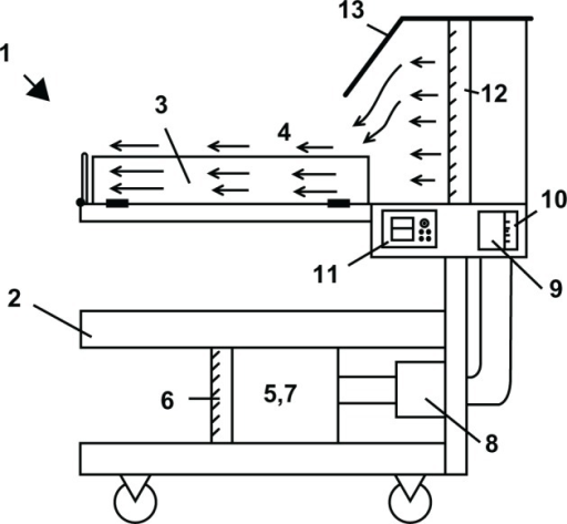Schematic representation of the laminar flow unit for n | Open-i