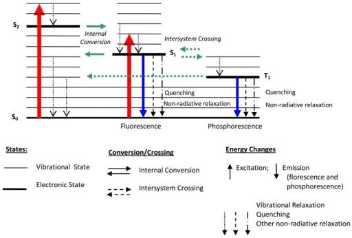 Jablonski energy level diagram showing the luminescence open i jablonski energy level diagram showing the luminescence process ccuart Gallery