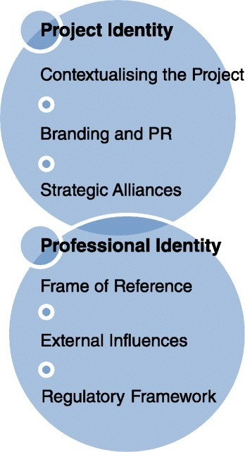 Factors influencing project identity and professional identify within higher education development projects