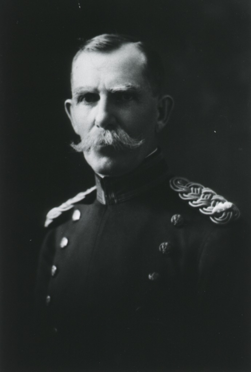 <p>Head and shoulders, left pose, face front, full face; wearing uniform.</p>
