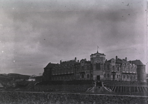 <p>A general view of the Russian Hospital at Port Arthur.</p>