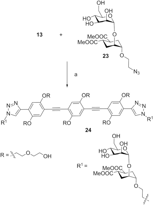 Synthesis Of Divalent Ligand 24 A 13 Tbaf In Thf R