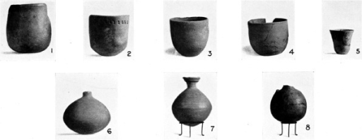 Abu Geili: locally produced wheel-made pottery (from Crawford and Addison 1951: Plate XLIII).