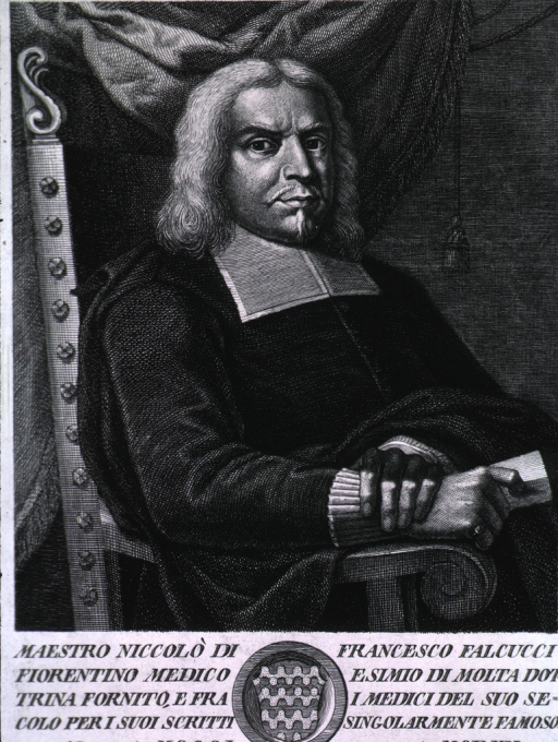 <p>Half-length, full face, seated in chair.</p>