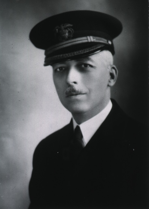 <p>Head and shoulders, full face, body to left, wearing USPHS uniform and cap.</p>