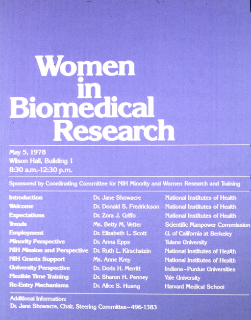 <p>Poster consists only of text.  The speakers, their affiliations, and their topics are listed.</p>