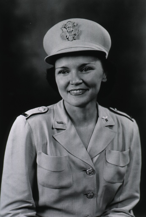 <p>Head and shoulders, full face, wearing white dress uniform.</p>
