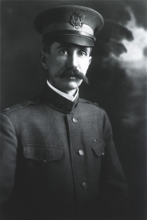 <p>Half-length, right pose, full face; wearing uniform and cap.</p>