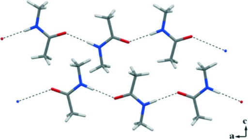 N–H···O HBs drive the formation of 1D infinite chains in the crystal packing of the homocrystal 1.