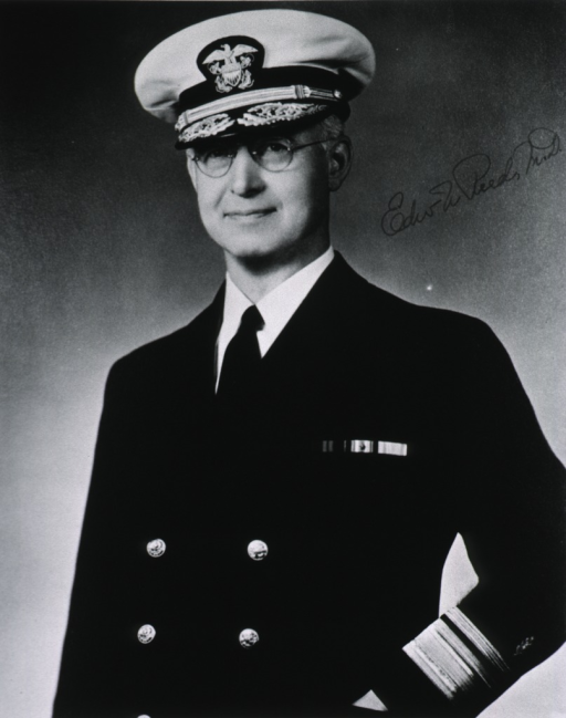 <p>Half length, full face, uniform, cap, rear-admiral.</p>