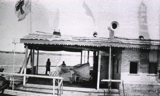 <p>View of the floating hospital boat, Grand Duchess Maria.</p>