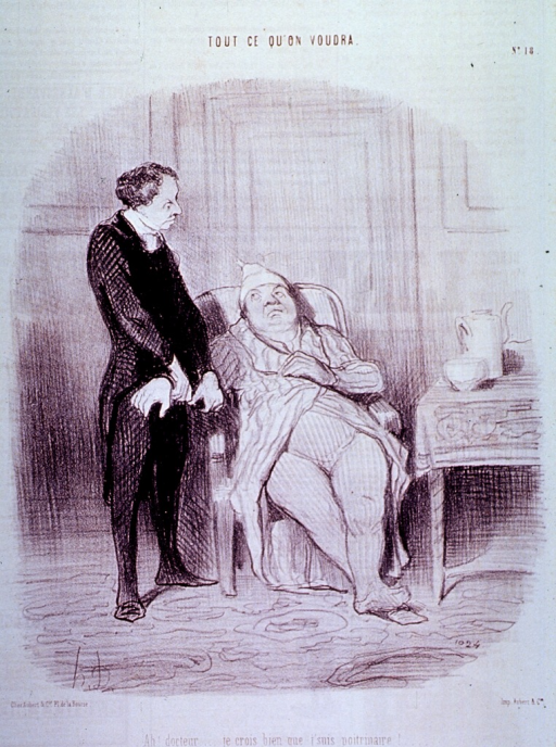 <p>A physician takes the pulse of a patient seated in a chair.</p>