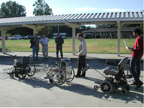 Configuration Of Wheelchairs For Trials Conducted At Ji Open I