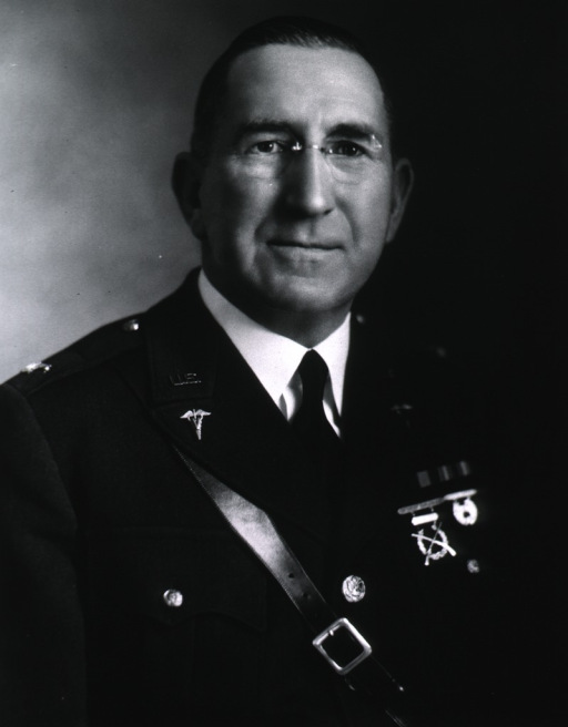 <p>Head and shoulders, full face, wearing uniform (Colonel).</p>
