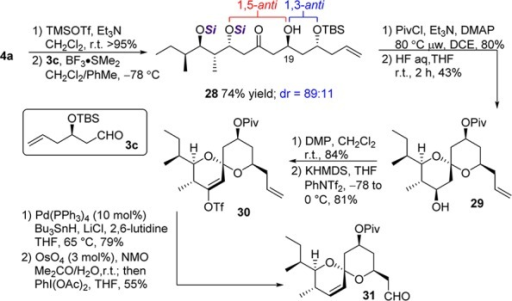 Formal Total Synthesis of Avermectin A1a
