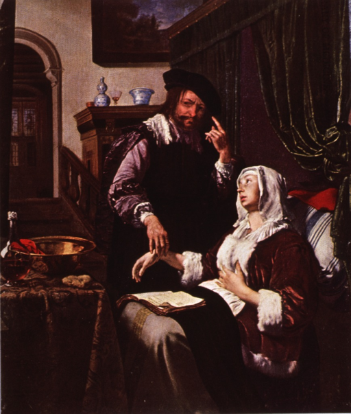 <p>The doctor's visit.</p>