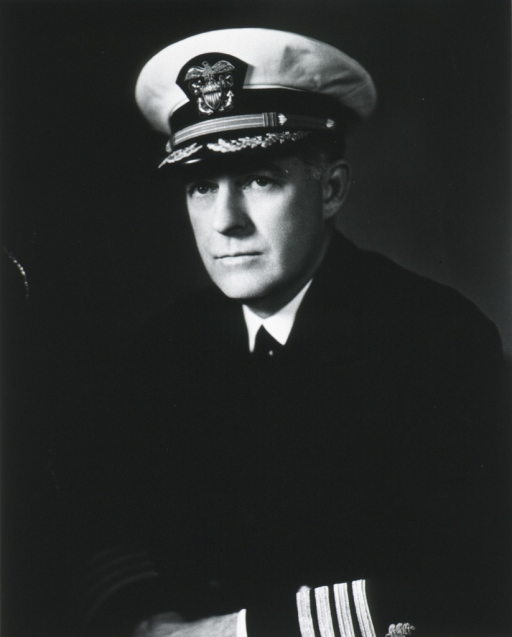 <p>Half length, full face, in uniform of naval officer.</p>