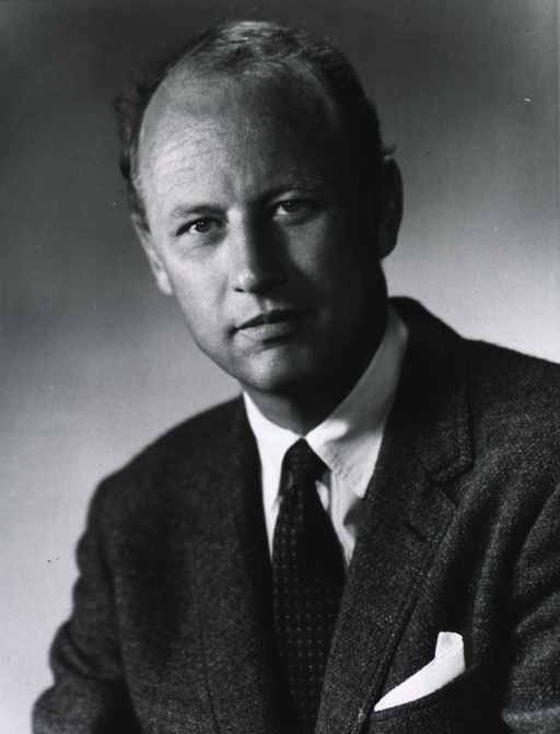 <p>Head and shoulders, full face of Donald S. Fredrickson, director of Intramural Research, National Heart, Lung, and Blood Institute.</p>